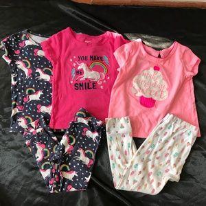 Pajama set Unicorn sweets summer sleepwear girls